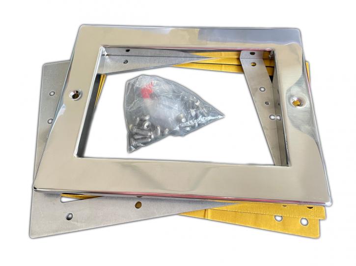 Edelstahlblende V4A für Astral ABS Skimmer Standard - 56344