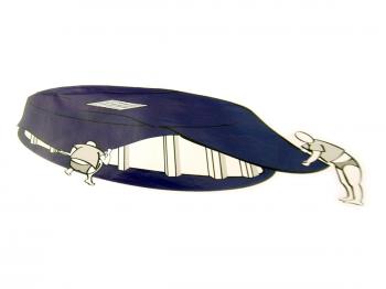 Pool Abdeckplane OVAL mit Ablaufnetz 3,60x6,25m
