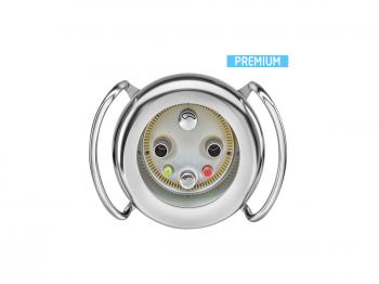 Gegenstromanlage BADU JET Primavera Deluxe 75m³/h mit LED Weiß und Haltegriff