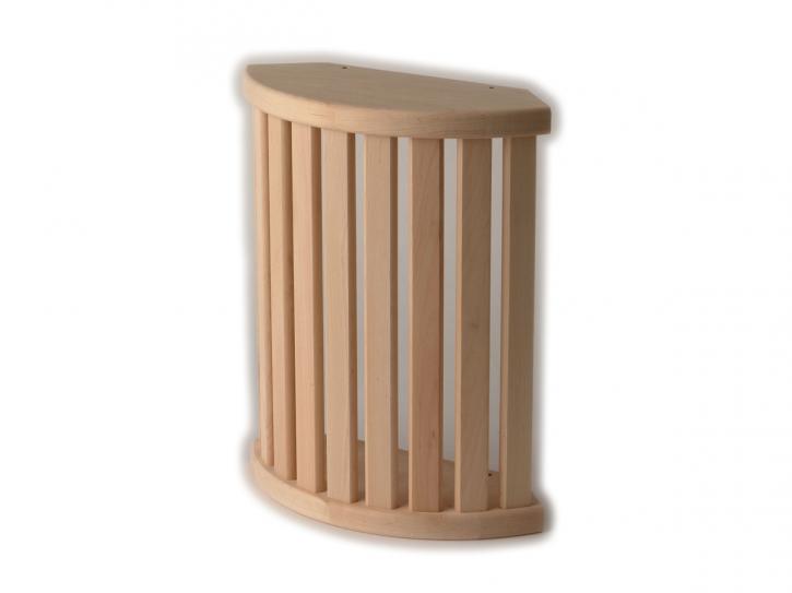 Holzblendschirm Erle Eckmodell
