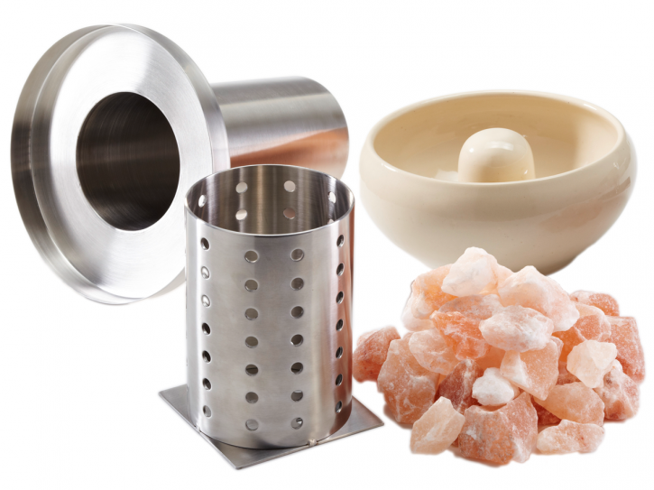 Sole Aqua Premium Beige - Salzverdampfer für die Sauna