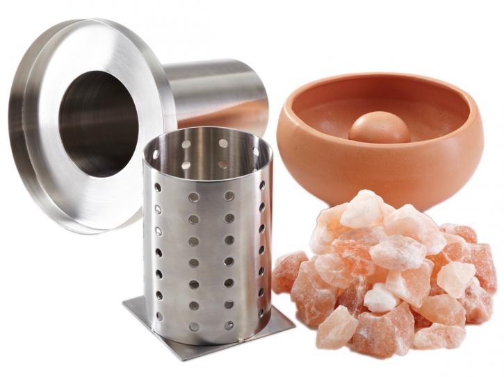 Sole Aqua Premium Rot - Salzverdampfer für die Sauna