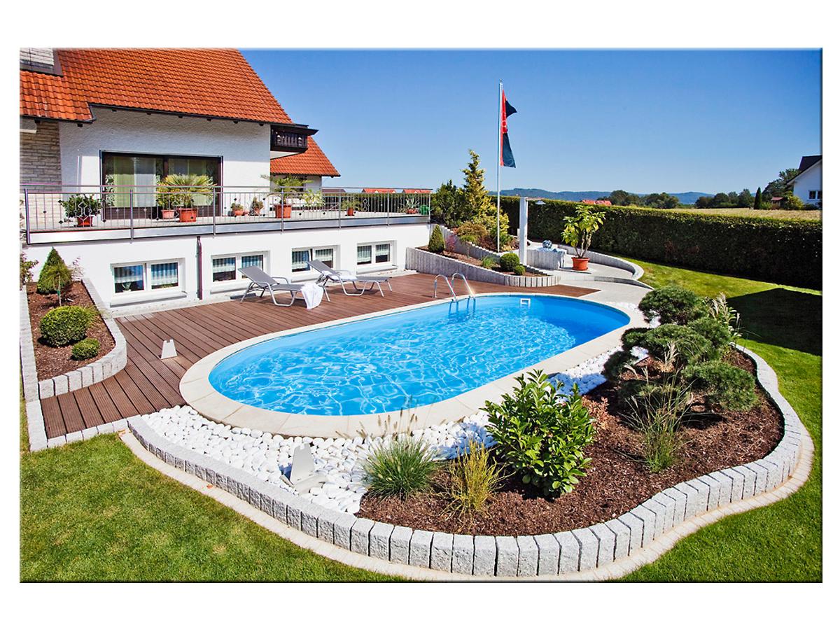 Pool 1 50 Tief : styropool ovalform becken 1 50m tief verschiedene gr en ~ Markanthonyermac.com Haus und Dekorationen