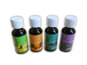 Essential oils 4 x 30ml for sauna and infrared cabin