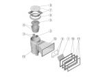 PROFI Pooleinbauteile Set Skimmer Mauerdurchführung Einlaufdüse bis 30m³ Fluidra