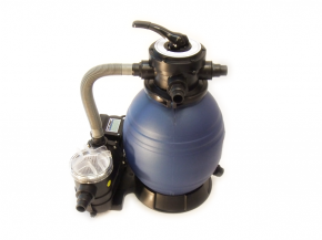 Sand filter system includes pump Top 300