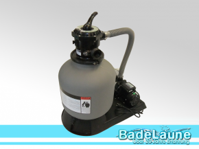 Sand filter system includes pump Top 400