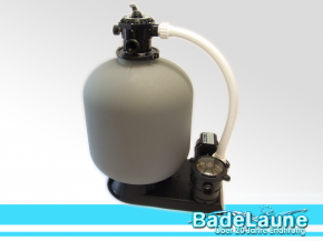 Sand filter system includes pump Top 600