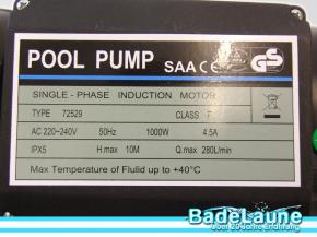 Sandfilteranlage Top 600 inkl. Pumpe