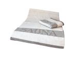 Sauna Liegetuch Exklusiv 220x75cm Natur - mit leichten Fehlern