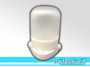 Sauna lamp glass