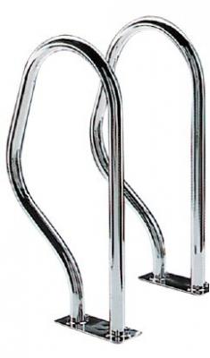 2 Griffbügel Leitergriffbogen Haltegriff Poolgriff Poolhaltebügel Edelstahlbügel