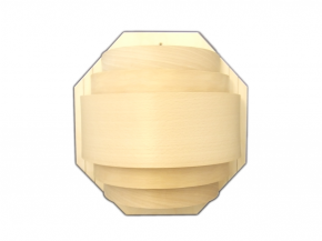Wooden lamp shade Large
