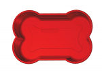 Hundepool in Knochenform Rot 120x80x25cm