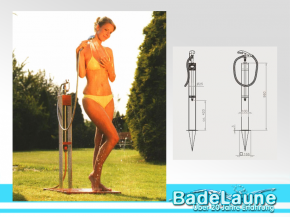 Garden Shower Altena Mini