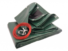 Pool Cover with steel cable 160g/m²