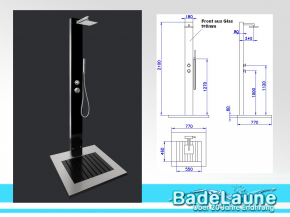 Designer Garden Shower Kuba