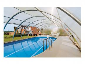 Verlängerung Poolüberdachung - 1,075m Zusatzelement 5m breit