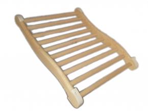 Sauna Rückenstütze ergonomisch mit Rutschstoppern