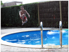 Children steel wall pool set height 0.90m - 1.50m diameter circular tanks from