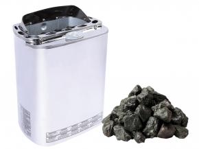Combi Saunaofen Mini Z Sawotec - 3,6kw + Steine