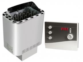 Finnish sauna heater Nordex Next Sawotec - 4.5 kW / 6kw / 8kw / 9kw + K2 Next control