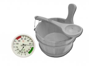 Sauna accessories set Exclusive VII - with bucket to choose