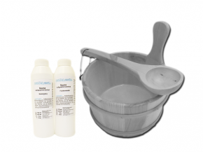 Sauna Accessory Set Exclusive VI - with tubs to choose from