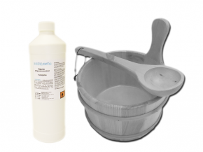 Sauna accessories set Exclusive V - With tubs to select