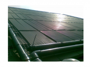 Pool solar absorber EPDM collector - frost resistant