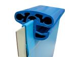 Pool Spezial Handlauf Blau Achtform - Family