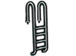 Edelstahl Poolleiter mit enger Ausladung - Tiefbeckenleiter 2 bis 5 stufig