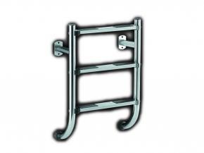 Edelstahl Poolleiter geteilte Ausführung nur Unterteil - 3 stufig