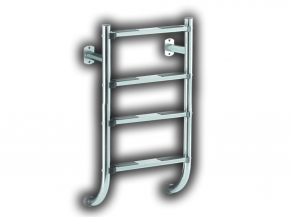 Stainless steel pool ladder split design lower part only