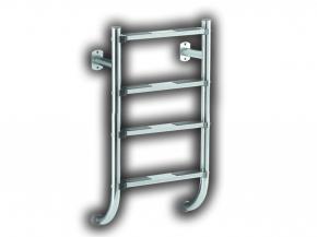Edelstahl Poolleiter geteilte Ausführung nur Unterteil 3 oder 4 Stufig